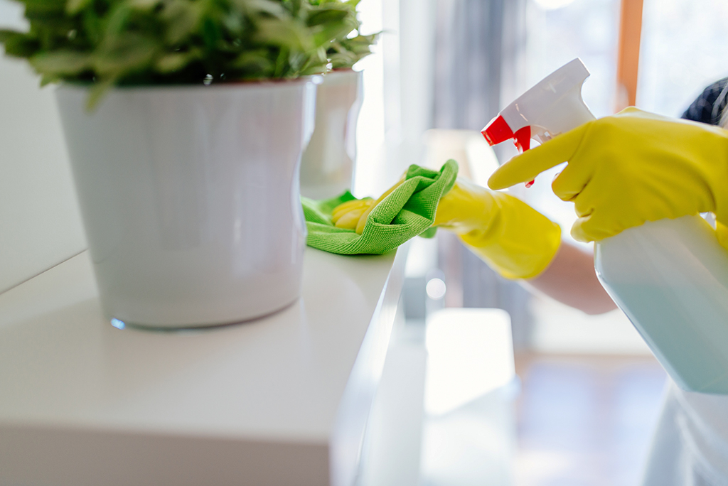 What are the Six Stages of Cleaning?
