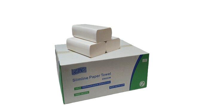 CPC Slimline P/Towel 1 Ply X 4000
