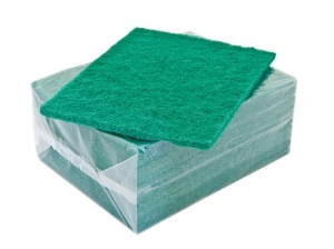Scouring Pads  (GREEN) x10