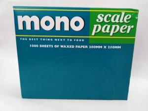 Mono Scale Paper Sheets  (5 pkt Per Ctn) 1000