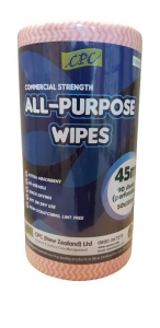 CPC All Purpose Wipes (Red)