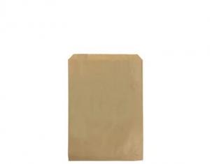 Bag Paper Flat Brown size #1 x1000