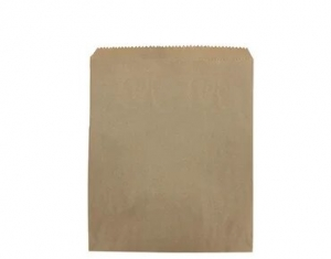 Bag Paper Flat Brown size #3 x1000