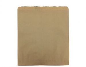 Bag Paper Flat Brown size #4 x1000