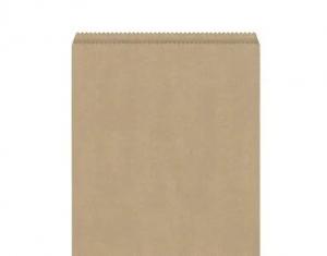 Bag Paper Flat Brown size #5 x500