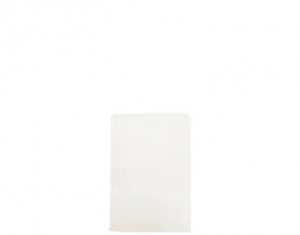 Bag Paper Flat White greaseproof size #2 x1000