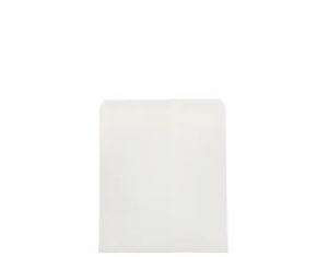 Bag Paper Flat White greaseproof size #4 x1000