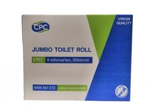CPC Jumbo Premium  2ply Toilet Roll
