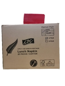 CPC Lunch 2ply RED x 2000