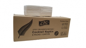 CPC Cocktail 2 ply White