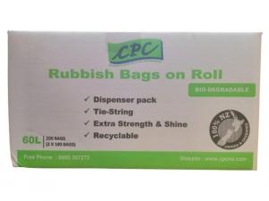 CPC R/Bag on Roll Disp Pack 60L SML CTN