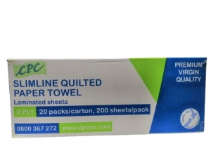 CPC Slimline QUILTED P/Towel  X 4000